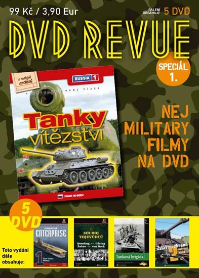 DVD Revue speciál 1 - Nej military filmy na DVD - 5 DVD