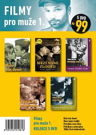 Filmy pro muže 1. - 5 DVD pošetka