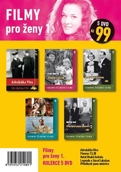 Filmy pro ženy 1. - 5 DVD pošetka