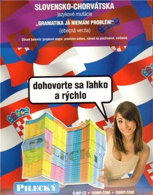 Jazyková mapa: slovensko-chorvatská - obecná
