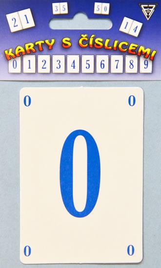 Karty s číslicemi