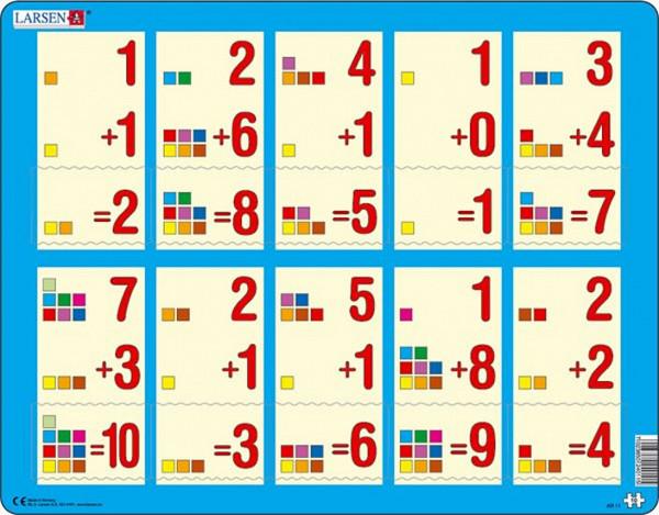 Puzzle MAXI - Počítání do 10 /10 dílků