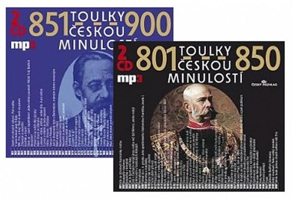 Toulky českou minulostí - komplet 801-900 - 4CD/mp3